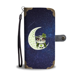 Cute Owl Design It's OWL Good Wallet Phone Case