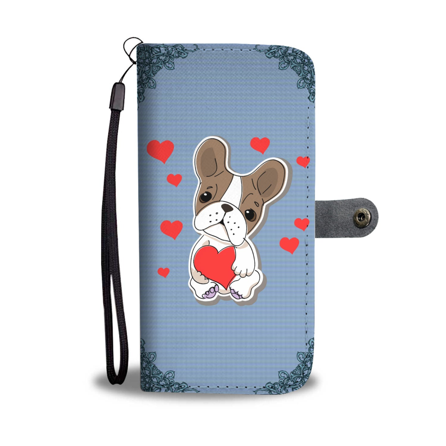 Adorable Rescue Mom Wallet Phone Case