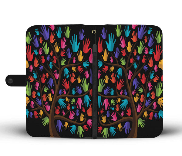 Tree of Life Wallet Phone Case