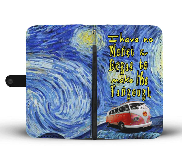 Kombi Monet Vangough Degas Art Wallet Phone Case
