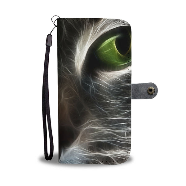 Cute Cat Wallet Phone Case