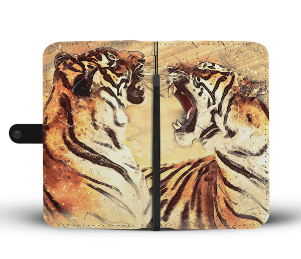 Bengal Tigers Wallet Phone Case