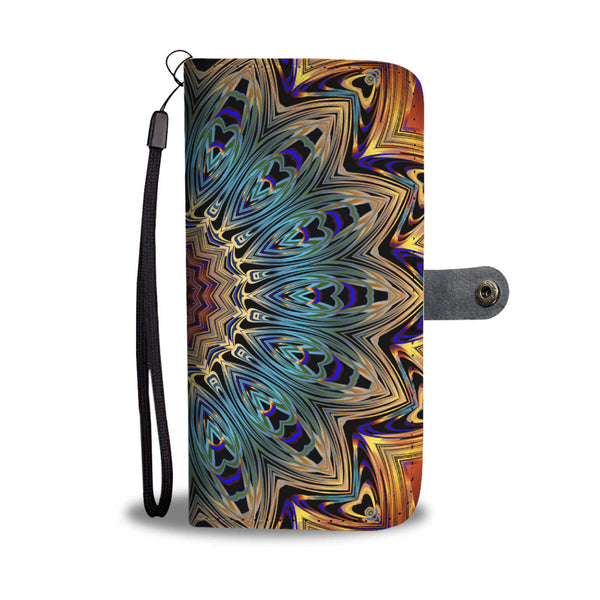 Colorful Mandala Wallet Phone Case