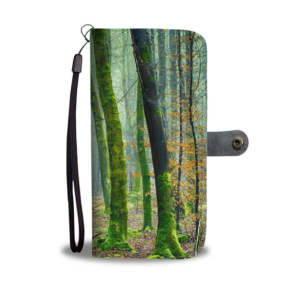 Trees Landscape Wallet Phone Case