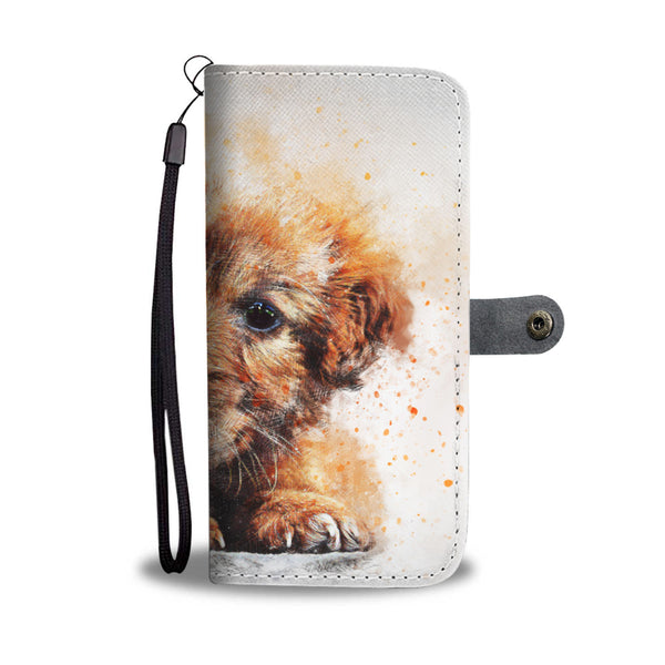 Puppy Wallet Phone Case