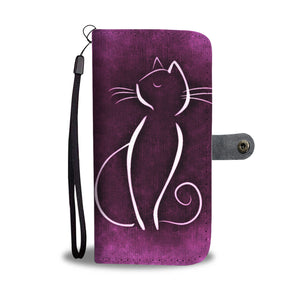 Cat Wallet Phone Case