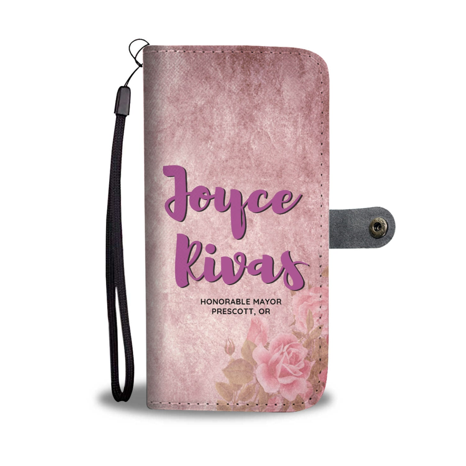 Custom Designed Wallet Case for Joyce Rivas
