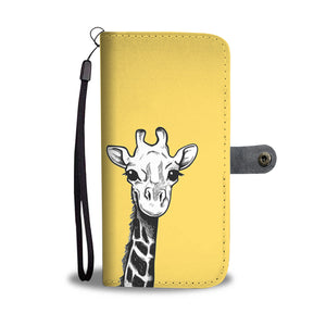 Giraffe Wallet Phone Case