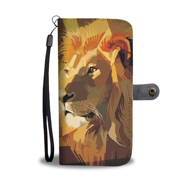 Lion Wallet Phone Case