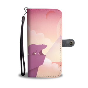 Cute Bear Wallet Phone Case