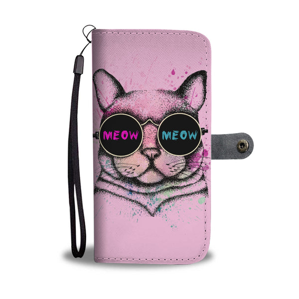 Cool Cat Wallet Phone Case