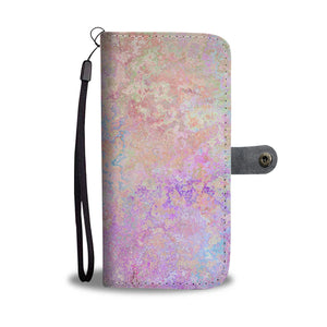 Abstract Design Wallet Phone Case