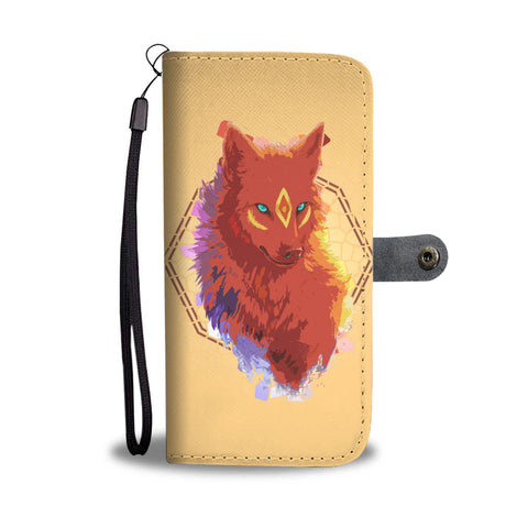 Cool Fox Wallet Phone Case