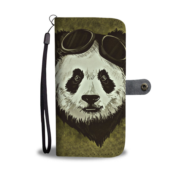 Cool Panda Wallet Phone Case