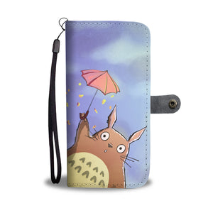 Totoro Wallet Phone Case