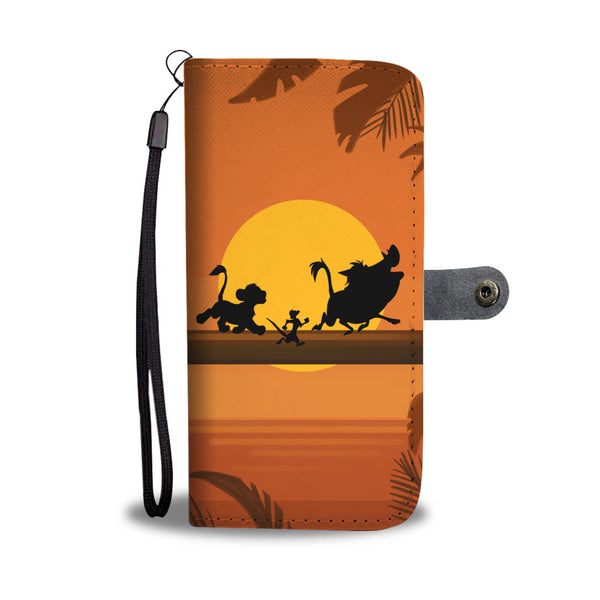 Lion King Wallet Phone Case