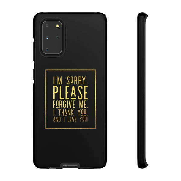 Hoponopono Prayer Tough Phone Case for iPhone and Galaxy