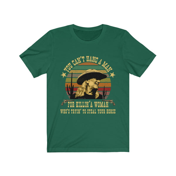 Vintage Willie Nelson Red Headed Stranger Unisex Tee Shirt