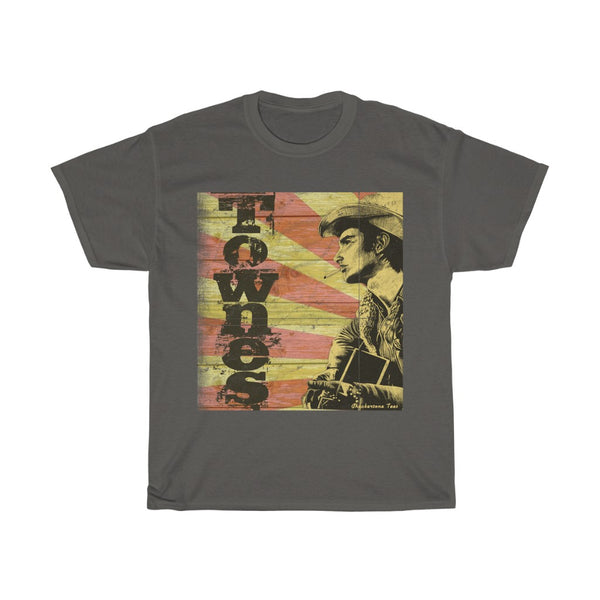 Townes Van Zandt Folk and  Country Music Legend T Shirt