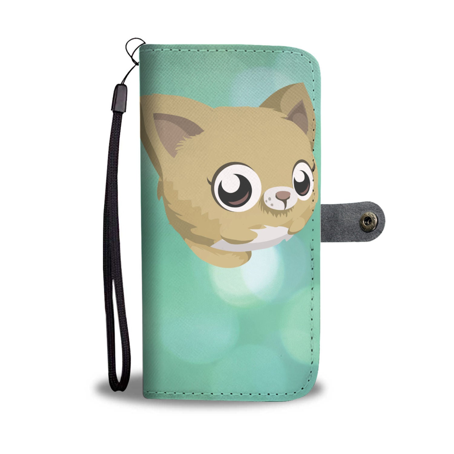 Anime Kitty Wallet Phone Case