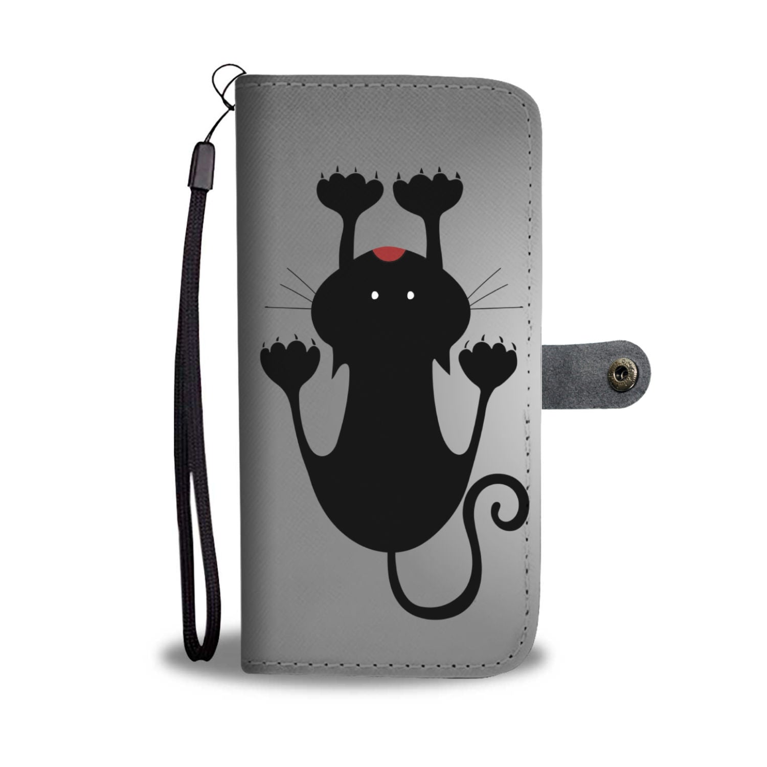 Black and White Cats Wallet Phone Case