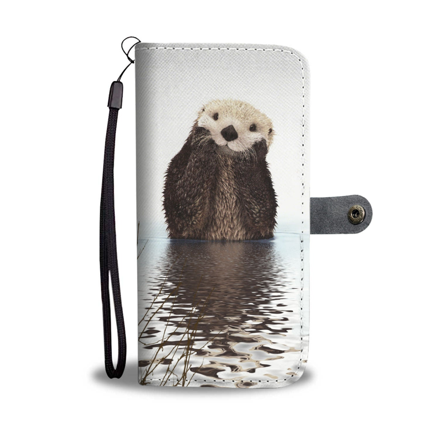 Cute Otter Wallet Phone Case