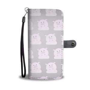 Cute Pigs Wallet Phone Case