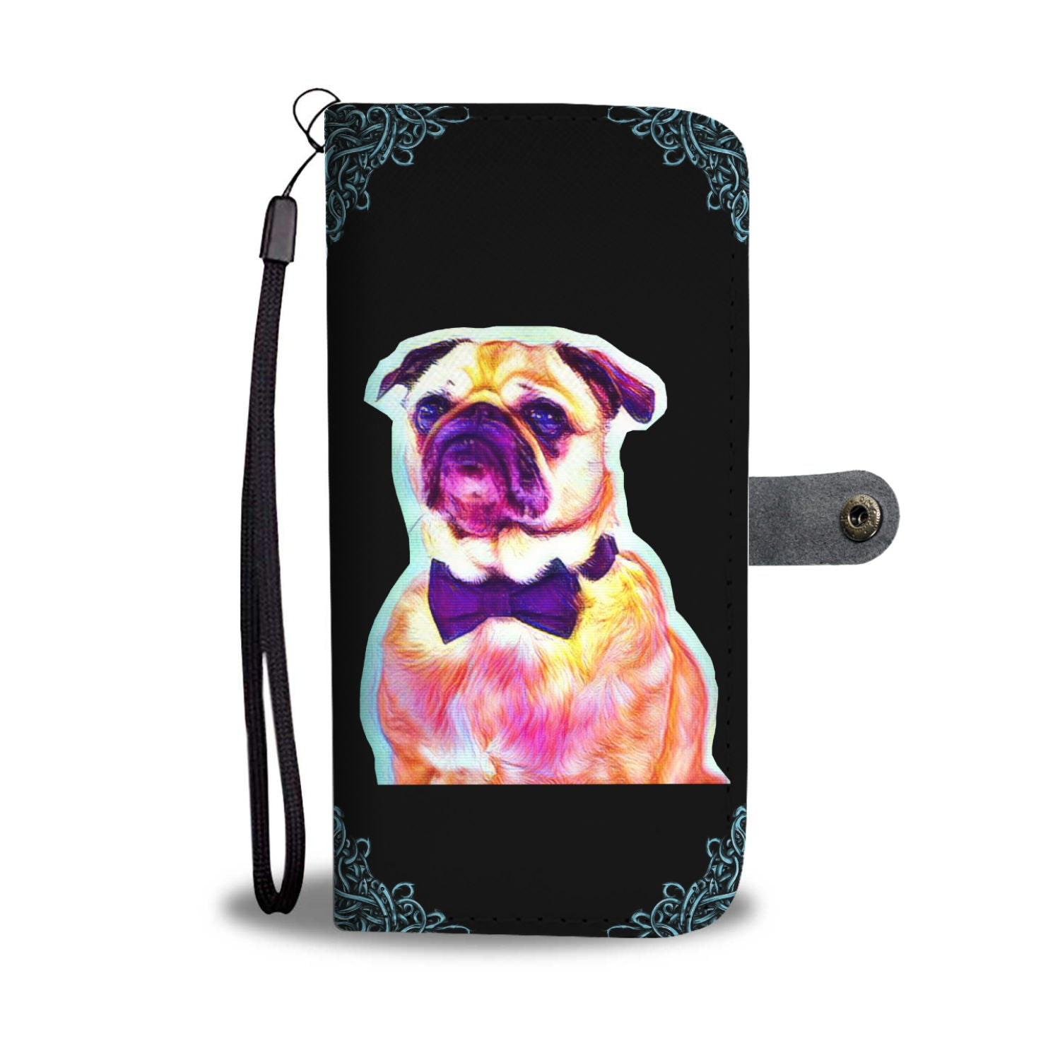 Pug Life Wallet Phone Case 1