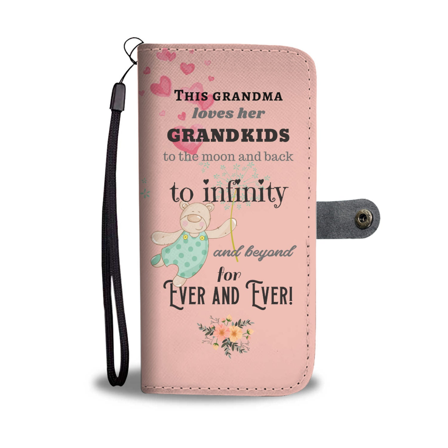 Cute Grandma Wallet Phone Case