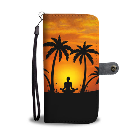 Hoponopono Prayer Wallet Phone Case