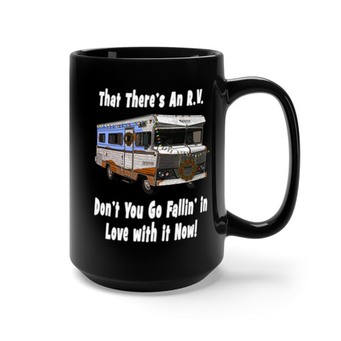 That There's an RV Black Mug 15oz