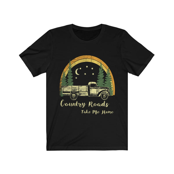 Country Roads Take Me Home Vintage Unisex T-Shirt