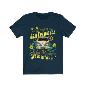 Music Lyrics Hippie Van T Shirt
