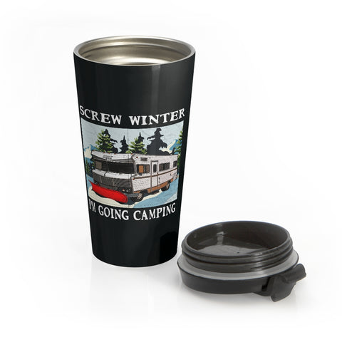 Screw Winter Stainless Steel Travel Mug