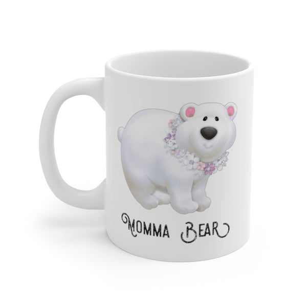 Momma Bear Best Mom Coffee Mug