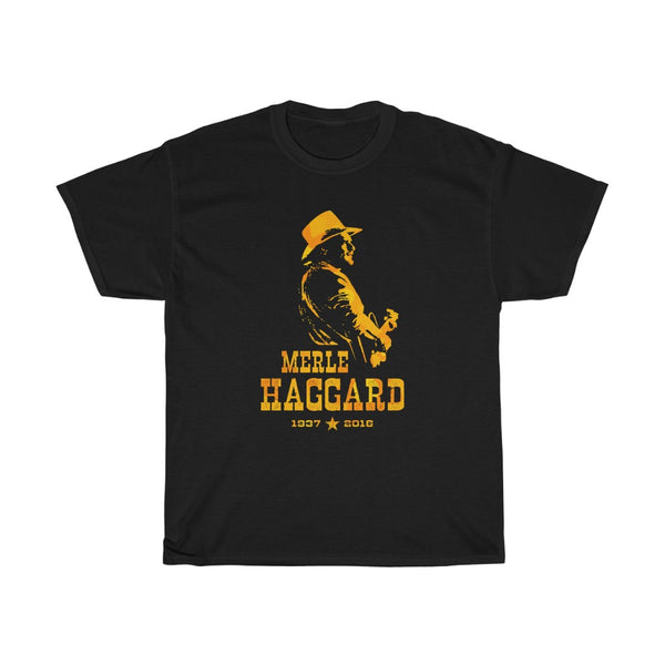 Tribute to Merle Haggard Feelin' Haggard Country Music Legend T Shirt