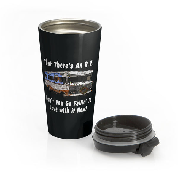 That There's An RV Stainless Steel Travel Mug
