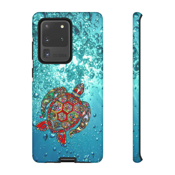 Sea Turtle Ocean Tough Phone Case for iPhone and Galaxy