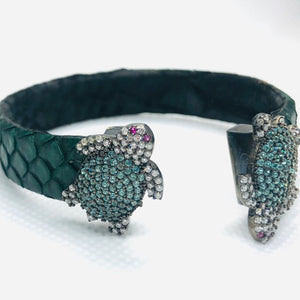 """The Great Turtle"" Swarovski Bracelet"