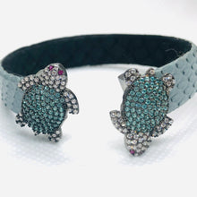"Load image into Gallery viewer, ""The Great Turtle"" Swarovski Bracelet"