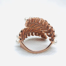 Load image into Gallery viewer, Rose Gold Conifer Ring
