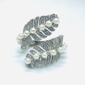 Silver Conifer Ring