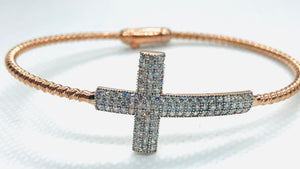Single Cross Bracelet