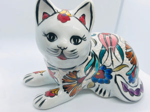 White Handmade Cozy Cat