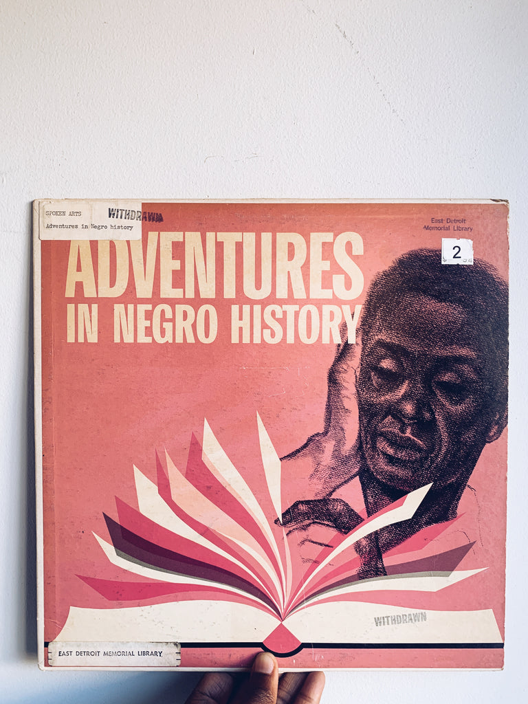 "Vintage ""Adventures in Negro History"" Vinyl LP (1963)"