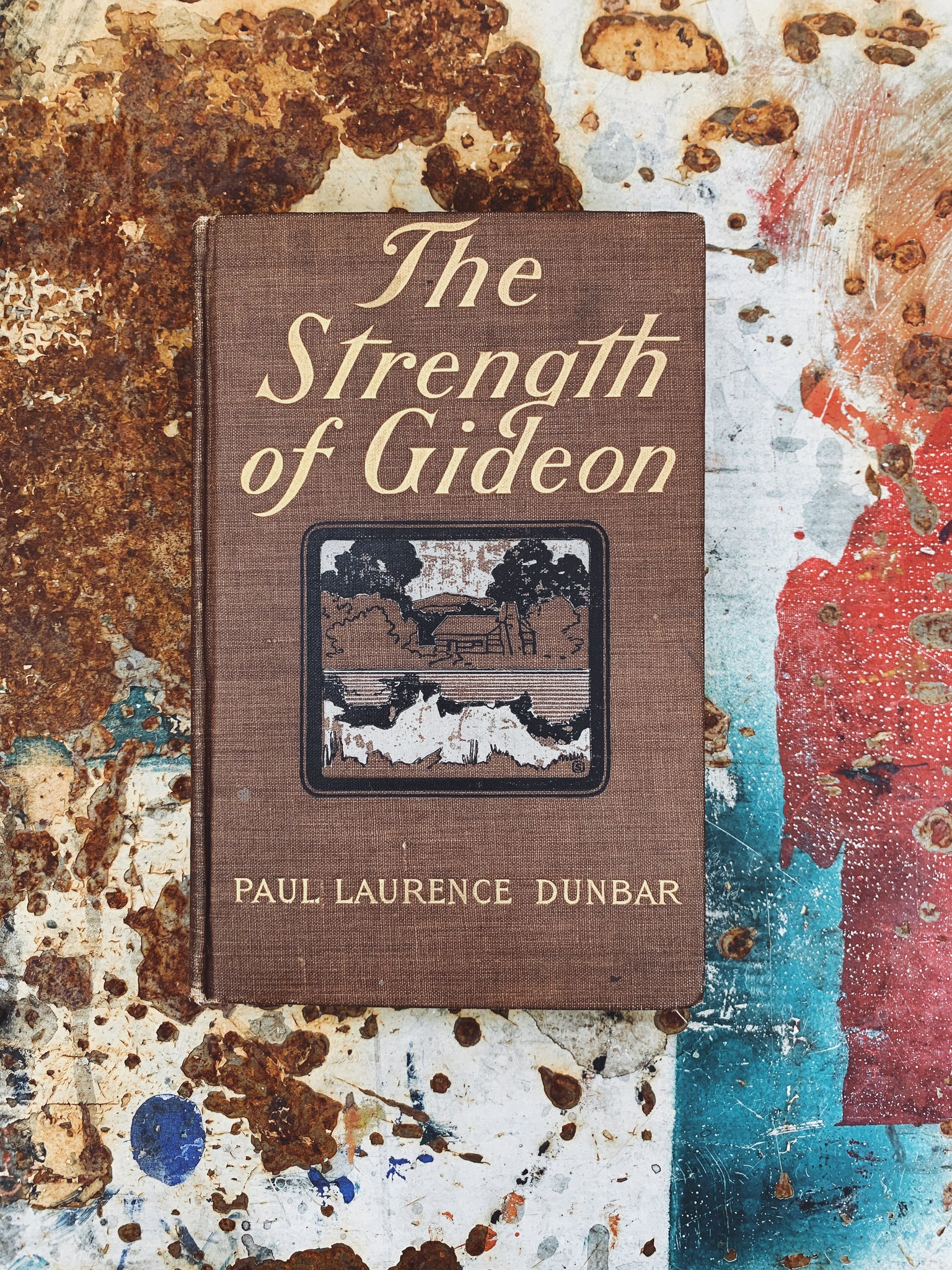 "Antique ""The Strength of Gideon"" by Paul Laurence Dunbar (First Edition, 1899)"