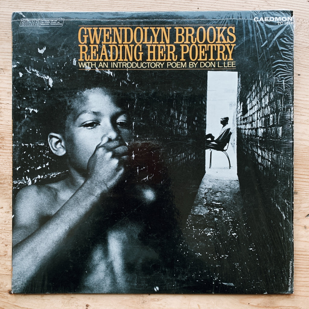"Vintage ""Gwendolyn Brooks Reading Her Poetry"" Vinyl Record (1968)"
