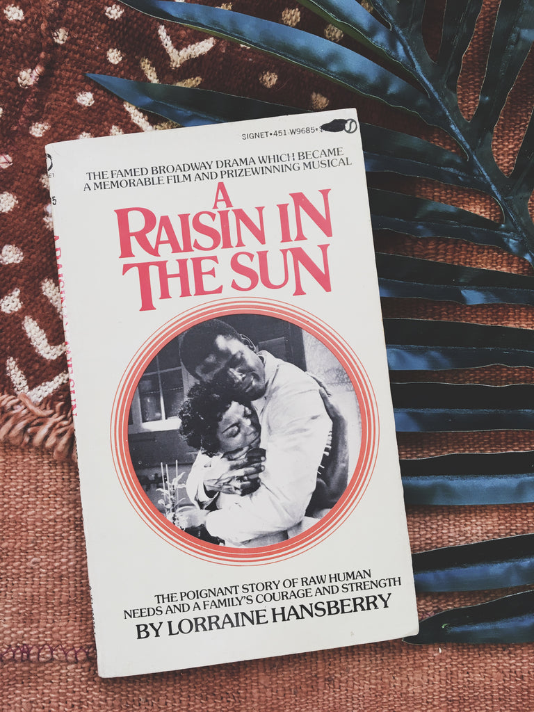 "Vintage Paperback ""A Raisin in the Sun"" by Lorraine Hansberry (1966)"