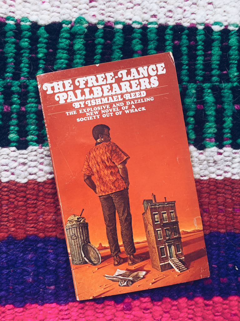 "Vintage Paperback ""The Free-lance Pallbearers"" by Ishmael Reed (1967)"