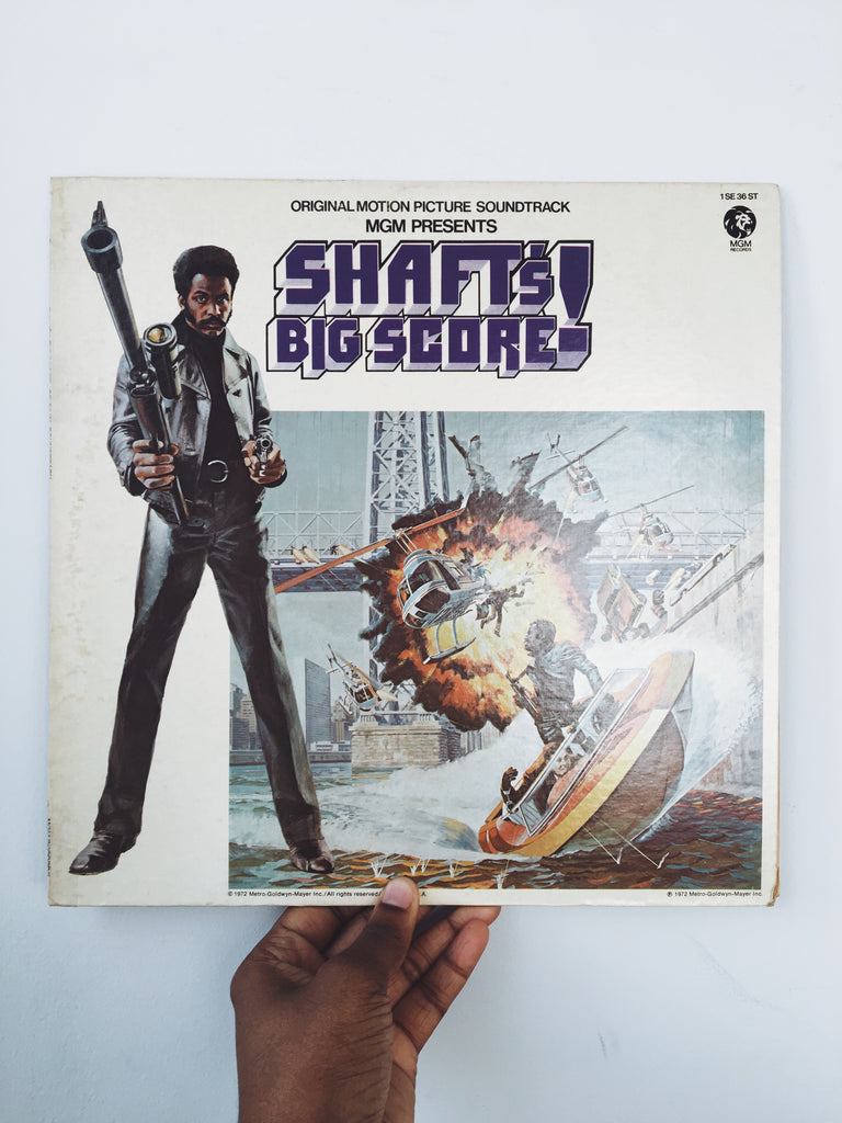 "Vintage ""Shaft's Big Score"" Motion Picture Soundtrack Vinyl LP (1972)"